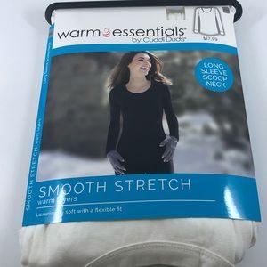 Cuddle Duds Warm Essentials Warm Layer White XXL J